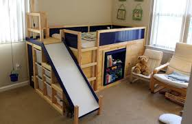 The Ultimate Ikea Kids Bed Is Real Dad Builds Awesome Kids Bed - Ikea bunk bed slide