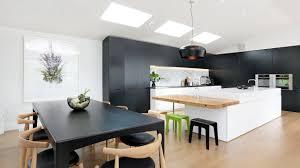 modern kitchen design entrancing idea strip lighting open plan