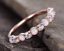 Opal Wedding Rings by Opal Wedding Ring Etsy Uk