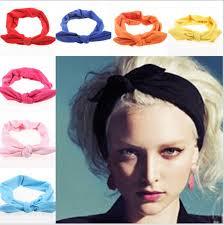 headbands for 2018 korean boutique rabbit bunny ears top knotted twist headbands