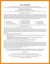 Construction Superintendent Resume Templates Construction Resume Eliolera Com