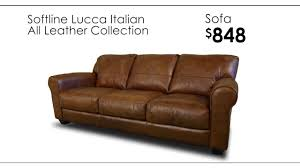 All Leather Sofas Softline Italian All Leather Collection