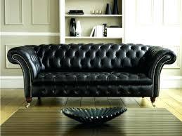 canapé cuir confortable vintage chic fabuux canape cuir confortable temps noir