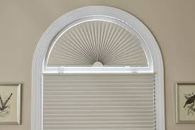 blindscom signature blackout cellular arch half circle window