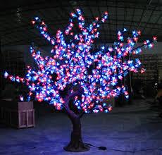 artificial tree lights rainforest islands ferry