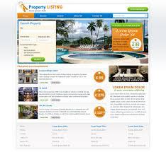 Real Estate Web Design Templates real estate website template free real estate web templates