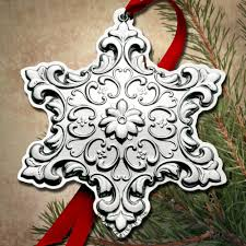 2015 towle master snowflake 26th edition sterling ornament