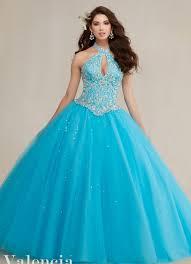 aquamarine bridesmaid dresses aliexpress buy blue sweet 16 dresses gown quinceanera