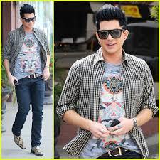 Gerard Barnes Lambert Adam Lambert La Bruschetta Boy Adam Lambert Just Jared