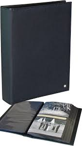 Slip In Photo Albums Deluxe Black 5x7 Slip In Photo Albums