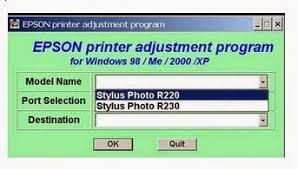 resetter epson r230 windows epson r230 resetter free download download driver printer
