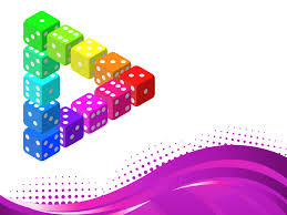 download free 3d dice powerpoint templates containing dices with