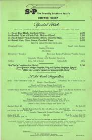 southern pacific menus u2014 texas compound