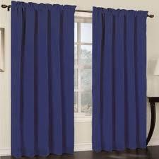 Heat Repellent Curtains Sapphire Blue Curtains Wayfair