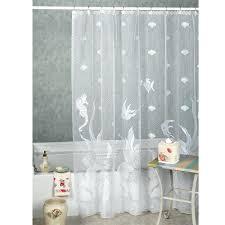 Bright Shower Curtains White Seashell Shower Curtain Shower Curtains Design