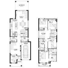 Floor Plans For Narrow Blocks Parkview