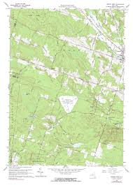 Hamilton Montana Map by New York Topo Maps 7 5 Minute Topographic Maps 1 24 000 Scale