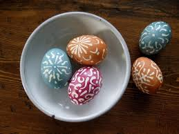 wax easter egg decorating easter eggs with one decor