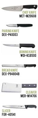 type of kitchen knives slice and dice instawares food and food service