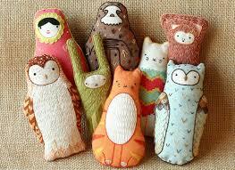 my owl barn kirikí press d i y embroidered doll kit