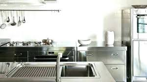 technique de cuisine meuble de cuisine indacpendant meuble cuisine en inox performance