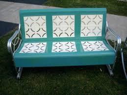 Antique Metal Patio Chairs Vintage Metal Outdoor Furniture Aluminum Vintage Metal Patio