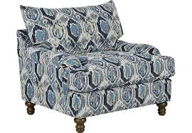 Blue Accent Chair Azura Blue Accent Chair Accent Chairs Blue