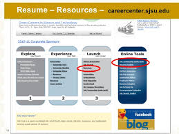 Sjsu Resume Obtaining Part Time Or Seasonal Employment