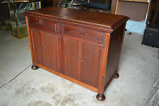 Rca Victrola Record Player Cabinet Console Record Player Ebay