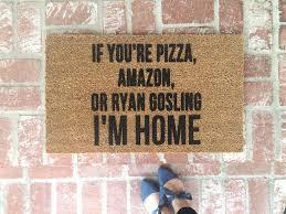 funny doormats popsugar home