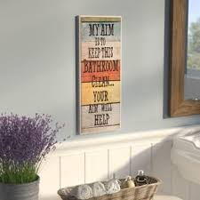 bathroom art ideas for walls bath laundry wall art