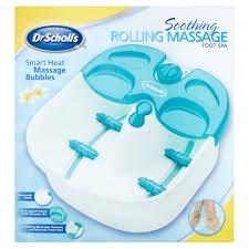 dr scholl u0027s soothing rolling massage foot spa walmart com