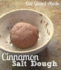 our gilded abode cinnamon salt dough ornaments