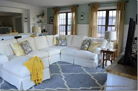 Coastal Cottage Family Room Before  After Four Generations - Cottage family room