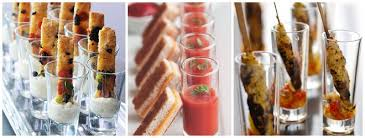 canapes ideas wedding canapé ideas canapés in glasses south