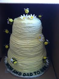 beehive baby shower cake cakecentral com