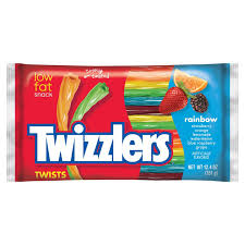 amazon com twizzlers twists rainbow flavored licorice candy