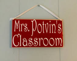 classroom wood sign etsy