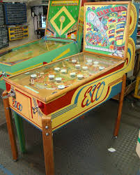 exhibit supply company fast ball esco baseball arcade pinball game