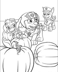 paw patrol coloring pages print getcoloringpages