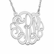 monogram necklace cheap henry s oc