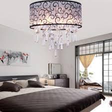 Bedroom Chandelier Lighting Bedroom Chandeliers Modern Lustre Metal Led Chandeliers