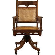 victorian eastlake antique 1885 walnut adjustable swivel desk