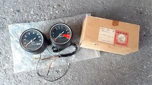 honda cb250 cl250 cb350 cl350 speedometer km h tachometer nos
