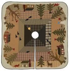woodland tree skirt kit product details keepsake quilting