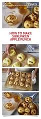 halloween party ideas food and drink how to make shrunken apple punch apple head apples and