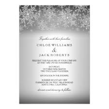 winter wedding invitations announcements zazzle