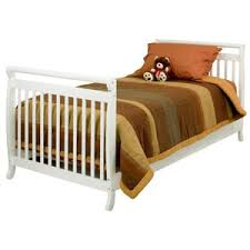 Twin Sized Bed Amazon Com Davinci Twin Full Size Bed Conversion Kit White