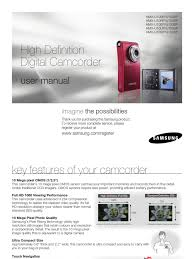 samsung camcorder u10 user manual secure digital digital