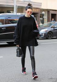 jenner sweater kendall jenner grabbed lunch in wearing an